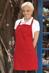 UT 3016 2-Patch-Pocket Bib Apron